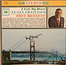 Tony Bennett Signed Autographed I Left My Heart In San Fransisco Vinyl Record