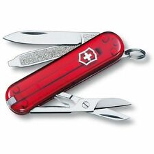 VICTORINOX classic SD ROUGE 7 fonctions 0.6223.T couteau suiss army knife red