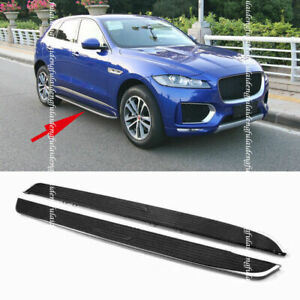 Running Board For Jaguar F-PACE 2016-2020 Side Step Nerf Bars Protector Refit