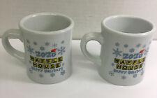 2 Waffle House 2020 Christmas Holiday Coffee Mugs