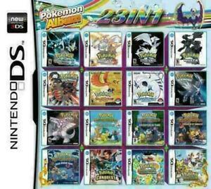 23in1 Pokemon black white heartgold soulsilver diamond pearl platinum ds 2ds