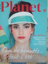 """Magazine """"Planet"""" été 2017 N° 49"""