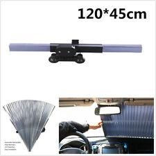 NEW Retractable Car Windshield Visor Sun Shade Folding Auto Block Cover 120*46cm