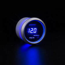 """New HOTSYSTEM Car 2"""" 52mm Digital LED Voltmeter Volt Voltage Gauge White"""