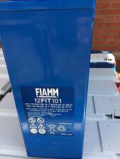 FIAMM 12 FIT101 BATTERIA AGM 12V 100AH IDEALE PER FOTOVOLTAICO & EOLICO UPS