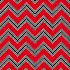 Henry Glass I Love You by Mari Cole 6293 88 Red Chevron Stripe  FREE US SHIP