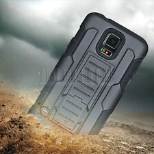 Hybrid Tough Shockproof Hard Kickstand Case Cover for Samsung Galaxy S5 SV i9600