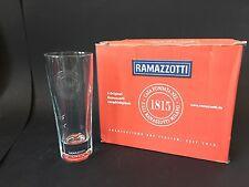 6x RAMAZZOTTI 'Special Edition' Glas Longdrink Ramazotti Gläser 2/4cl NEU OVP