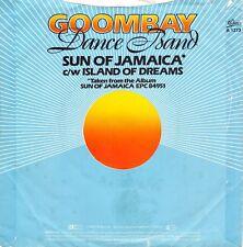 "GOOMBAY DANCE BAND SON OF JAMAICA YELLOW COLOURED 7"" VINYL RECORD 45 RPM 1981"