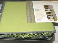 6 Shelf Sweater Holder Accesssory Canvas Closet Organizer Lime Green Storage New