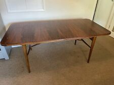 More details for heals 1960's vintage rosewood dining table robert heritage by archie shine
