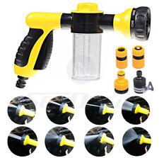 Foam Water Sprayer Gun Nozzle 8 Patterns Pet Car Garden High Pressure Wash Tool