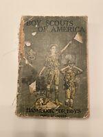 May 1923 BSA 28th Edition Boy Scout Handbook For Boys
