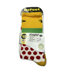 Defeet Aireator Socks Leaders Jersey Size M Mens 7-9 Womens 8.5-10.5 AIRTTDF201