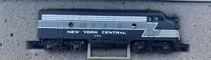 n scale EMD F7 New York Central 20th century limited passenger Diesel NYC #1711