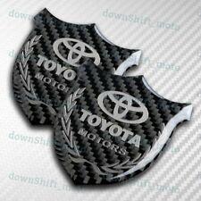 SILVER VIP Carbon Fiber 3D Car Front Body Trunk Rear Side Badge Emblem Sticker