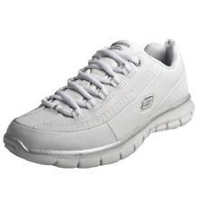 Baskets synergys blancs Skechers pour femme