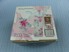 Sony Ericsson S500i Flowers Edition! Ohne Simlock! TOP ZUSTAND! OVP! RAR!