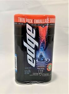 Twin Pack Edge Foaming Shave Gel for Men 14 Oz Scent of Your Choice