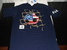 1998 WORLD CUP FRANCE FIFA SZ ADULT LARGE COTTON SOCCER FUTBOL T SHIRT / USA
