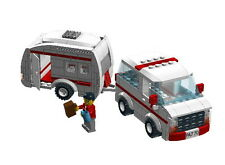 Lego Holiday Caravan & Tower set building instruction + 1 free gift instruction