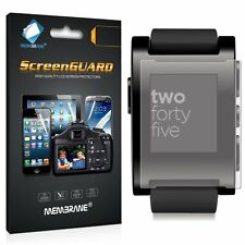 3 Pack Clear Front Anti Scratch Screen Cover For Pebble Smartwatch