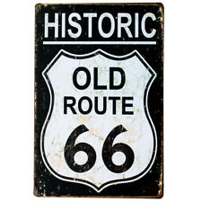Retro Metal Sign ROUTE 66 USA America Party Basement DECORATIVE METAL PLATE SIGN 20x30