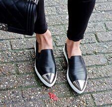 Miu Miu Metal Cap Toe Platform Sneaker (Women) Sz 35  $595.00
