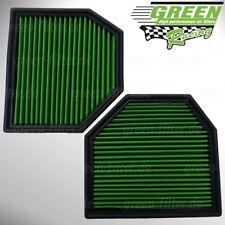 Green Sportluftfilter für BMW  M3 M4 M5 M6  2 Filter-Kit Luftfilter