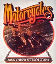 70's Enduro Dirt Motor Bike Mud Honda Motorcycle motocross vTg t-shirt iron-on
