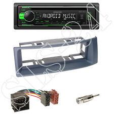 Kenwood KDC-110UG Radio + Renault Megane/Scenic Blende dunkelgrau + ISO-Adapter