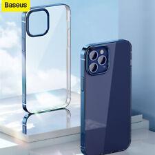 Baseus Case For iPhone 12 Mini Pro Max Transparent Glitter Hard Slim Back Cover