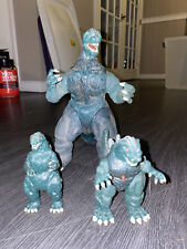 Godzilla Giant Action Figure 10? lot (1994 Trendmasters) JAPAN TOHO
