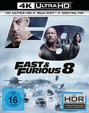 4K UltraHD Blu Ray * FAST & FURIOUS 8 | DWAYNE JOHNSON # NEU OVP +
