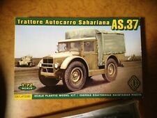 RARE- ACE s72283 -1/72- camion italien AS 37 , WW2