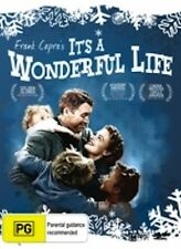 ITS A WONDERFUL LIFE James Stewart Donna Reed NEW DVD (Region 4 Australia) B W