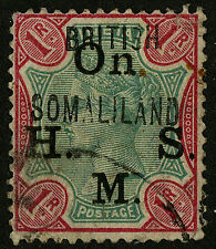 Somaliland Protectorate   1903   Scott # O 5  USED