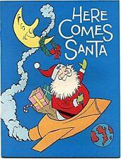 MARCH OF COMICS 340 HERE COMES SANTA GIVEAWAY PROMO MINI CHRISTMAS RARE VFNM