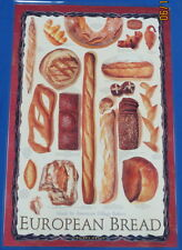 European Bread Poster by Joe Ortiz - Laminated - BRAND NEW POSTERS!!!