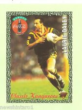 1995  COKE  RUGBY  LEAGUE  CARD #3  LAURIE  DALEY, CANBERRA RAIDERS