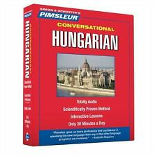 PIMSLEUR Learn to Speak HUNGARIAN Language 8 CDs NEW!!