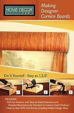 Home Decor 1-2-3 Making Designer Cornice Boards Collection 1