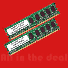 4GB Kit 2 x 2GB DDR2 LOW DENSITY PC2-4200 533 MHz 240pin Desktop Memory RAM