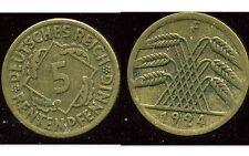 ALLEMAGNE 5  rentenpfennig  1924 F  ( bis )