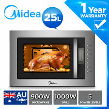 MIDEA Built-in 25L Microwave Frameless MWO  grill Digital control LCD display
