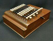 Felt & Tarrant Comptometer Model F WORKING 1915 Mechanical Calculator Sterling