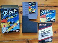 NES Ski Or Die Nintento Boxed PAL - BOXED - RARE - NINTENDO ENTERTAINMENT SYSTEM