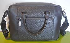 $695 TUMI 31607 Ticon LEATHER SLIM LAPTOP briefcase bag Messenger AUTHENTIC new