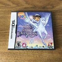 Nintendo DS Dora the Explorer Dora Saves the Snow Princess w/Case & Instructions