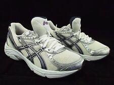 Asics Gel-Maverick 3 White Silver Black Synthetic Mesh Running Women's 6.5M
